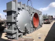 煤气管道防爆密闭插板阀