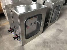 脱硫挡板门一体化控制柜