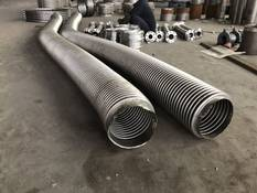 石灰石漿液泵高壓柔性波紋軟管