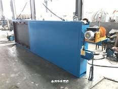 焦化脱硫装置配重快开插板门