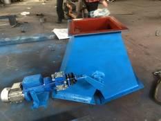 电动液压推杆三通卸料阀